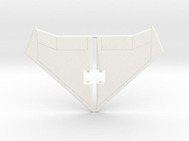 AirRaidwingmk2 in White Processed Versatile Plastic