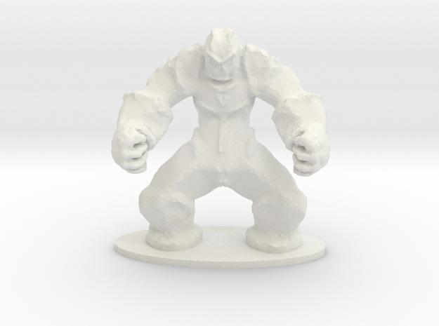 Rock Golem Earth Elemental Miniature 3d printed