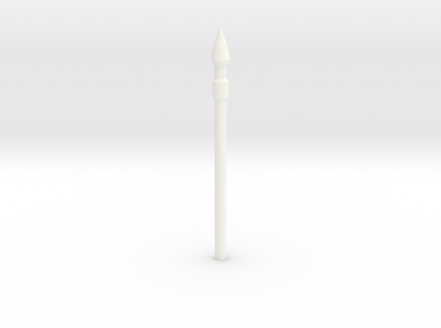 SPEAR in White Processed Versatile Plastic