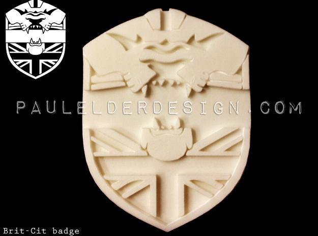 Britcit Badge 3d printed