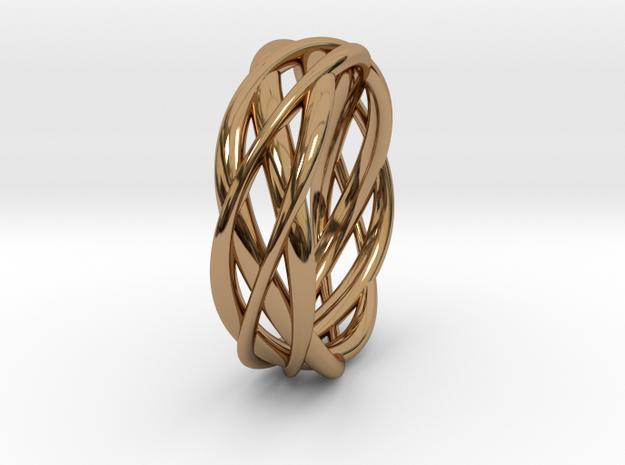 Mobius ring braid