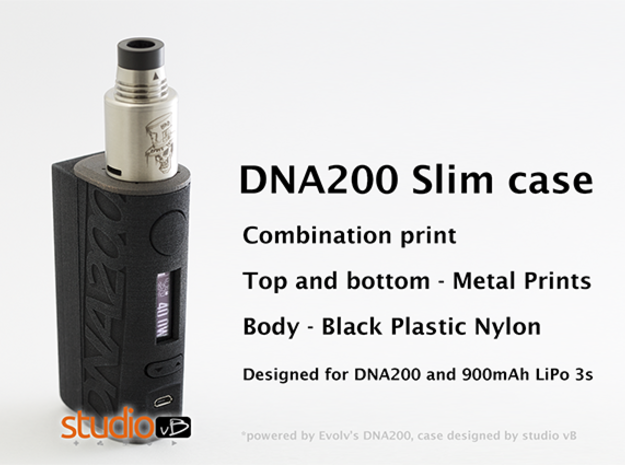 DNA200 Slim LiPo Version in White Processed Versatile Plastic