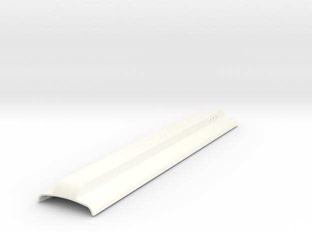 GNRi M1 Van Roof in White Processed Versatile Plastic
