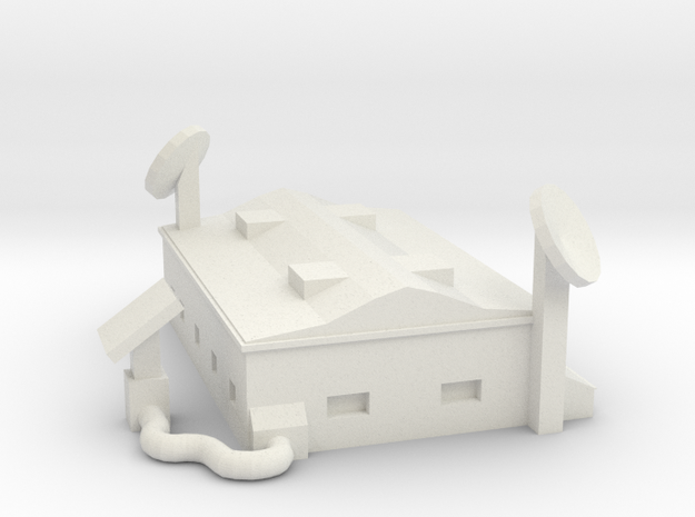 Comcenter - Low Poly in White Natural Versatile Plastic