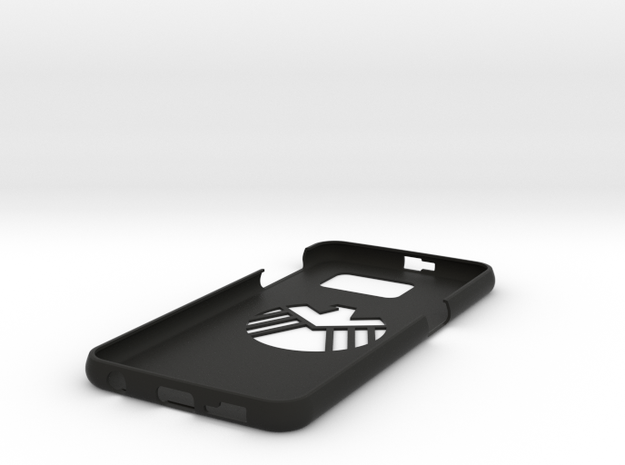 Galaxy S6 Cover S.H.I.E.L.D. in Black Strong & Flexible