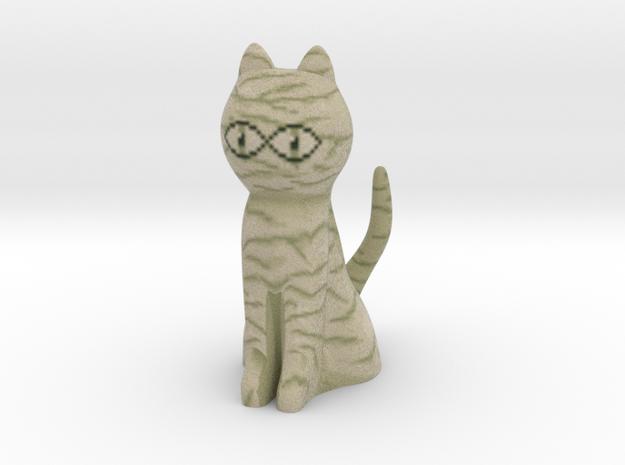 Cleocatra Mummy Cat in Full Color Sandstone