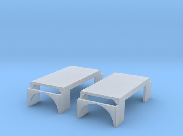 KLF 2.1 Kotflügel 2Stück in Smooth Fine Detail Plastic