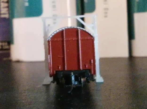 2x Z Scale Car Clearance Gauge 3d printed