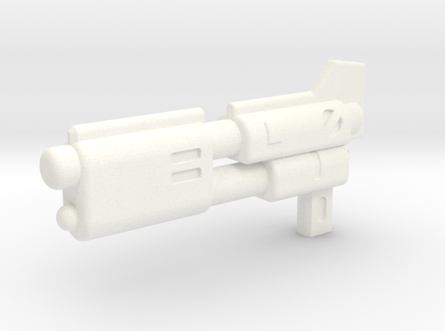 UT Fenrir G1 Gun in White Strong & Flexible Polished