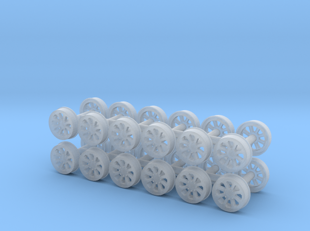 MOW Wheel (N - 1:160) 24X in Smoothest Fine Detail Plastic