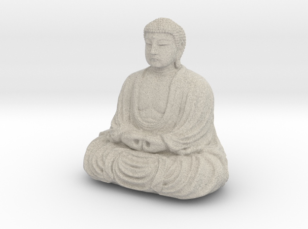 The Great Buddha At Kamakura, Japan in Natural Sandstone