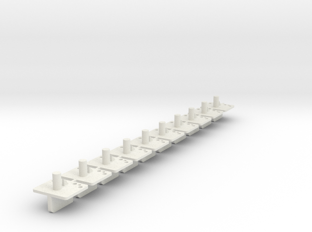 10xWG in White Natural Versatile Plastic