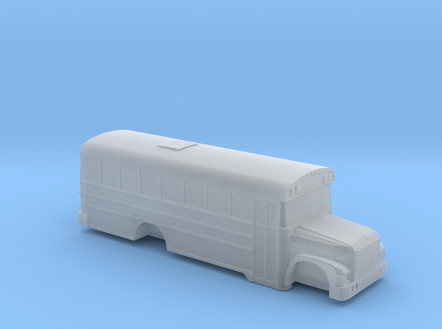 n scale BB international 3800 school bus (short) in Frosted Ultra Detail