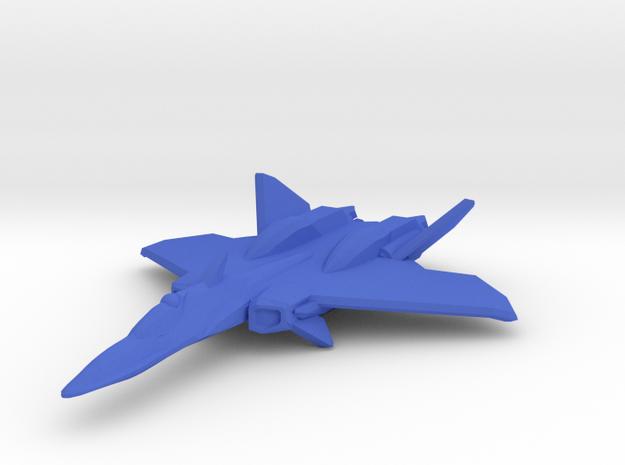 YF-21 Omega 1 1/350 Scale in Blue Processed Versatile Plastic