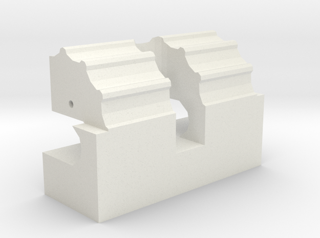 Mecha Glove - Scorpion Box - hinge in White Strong & Flexible