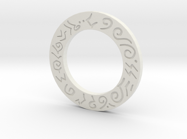 Mecha Glove - Scorpion Box - Lower Ring in White Strong & Flexible