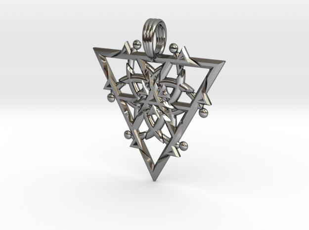 FIRESPIKE in Fine Detail Polished Silver