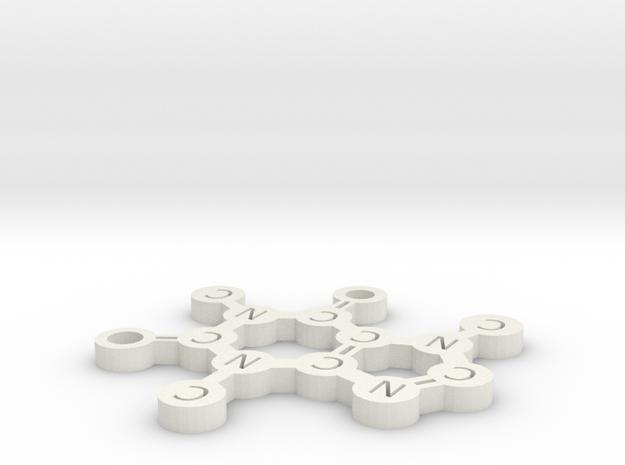 Caffeine Ejo 6 in White Natural Versatile Plastic