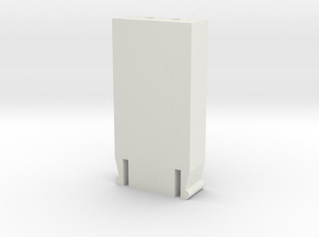 Suunto data connector in White Natural Versatile Plastic