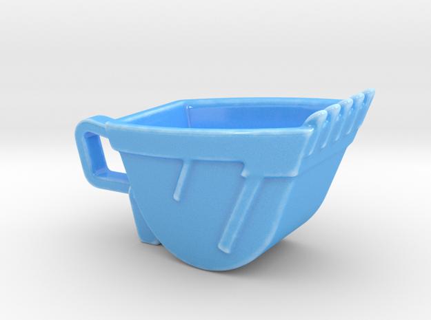 Excavator Bucket - Espresso Cup (Porcelain) 3d printed