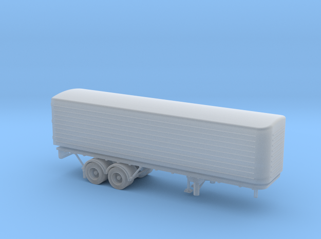 N scale (1:160) DAF Eurotrailer in Smooth Fine Detail Plastic