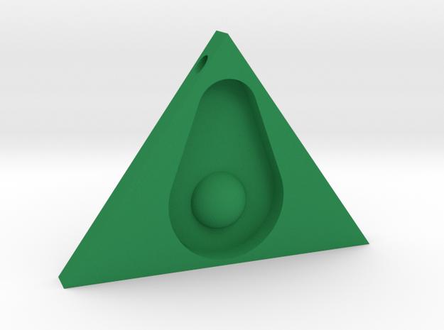 Guacanati Pendant in Green Strong & Flexible Polished