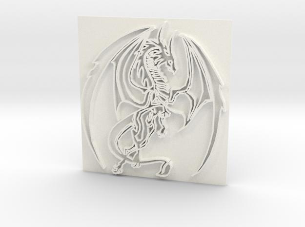 Dragon2 in White Processed Versatile Plastic