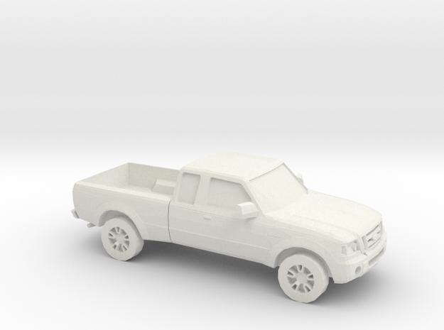 1/56 2001 - 12 Ford Ranger in White Natural Versatile Plastic