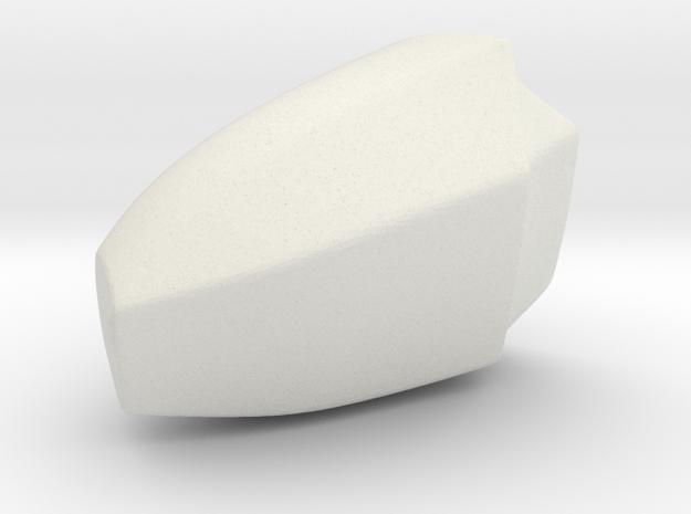 Iron Man mkIII - Pointer-tip in White Natural Versatile Plastic