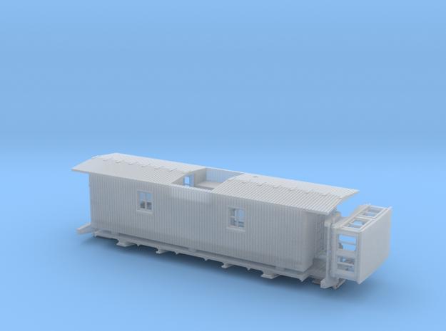 GTR/ GTW Steel UF Caboose HO Scale