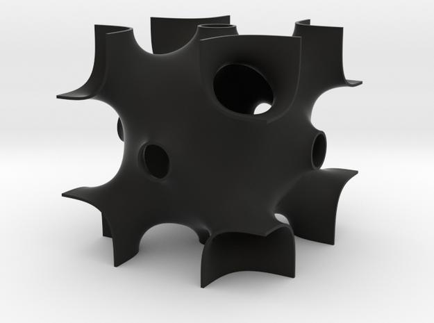 OCTO periodic minimal surface 3d printed