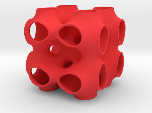 P-surface with 111 inclusion 3d printed