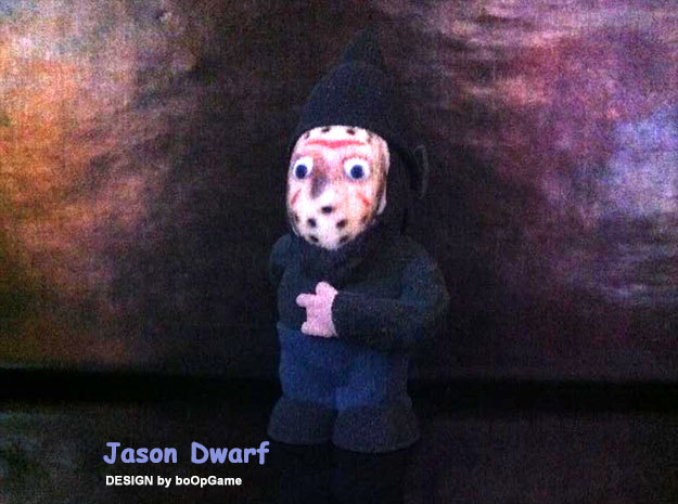 boOpGame Shop - Halloween - Jason Dwarf in Full Color Sandstone