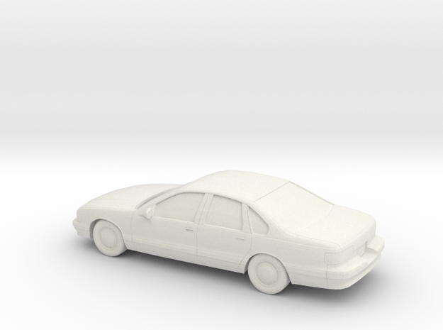 1/87 1994-96 Chevrolet Impala in White Strong & Flexible