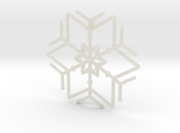 Snowflakes Series I: No. 3 3d printed