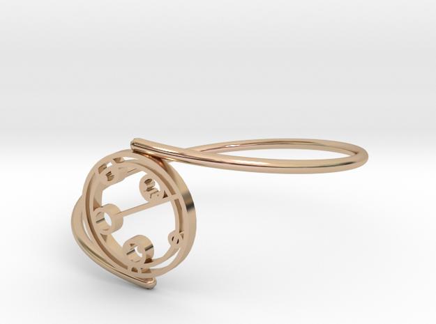Kaelyn - Bracelet Thin Spiral in 14k Rose Gold Plated Brass