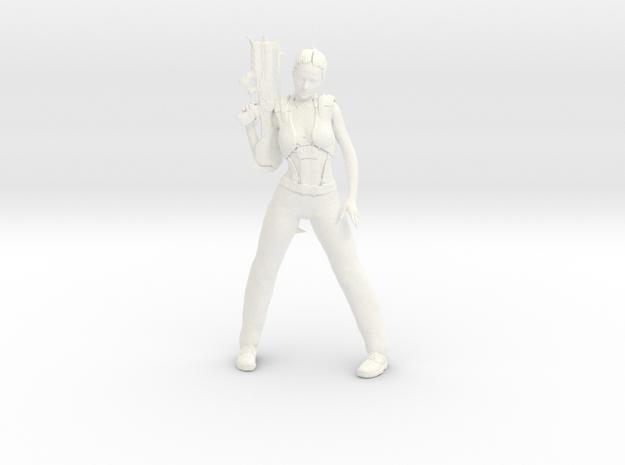 Rei: Zombie Hunter Dragon Mind: Riggz [custom pain in White Processed Versatile Plastic