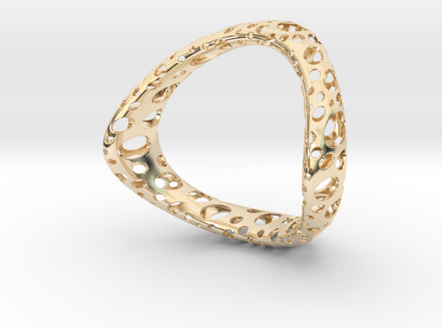 Space 64 in 14K Yellow Gold