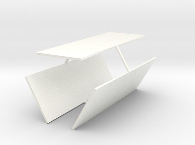 Key Locker Windows in White Processed Versatile Plastic