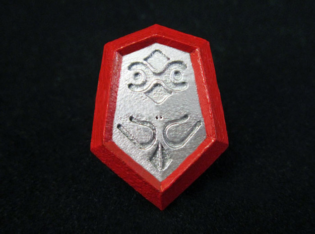 Mirror Shield I in Smooth Fine Detail Plastic