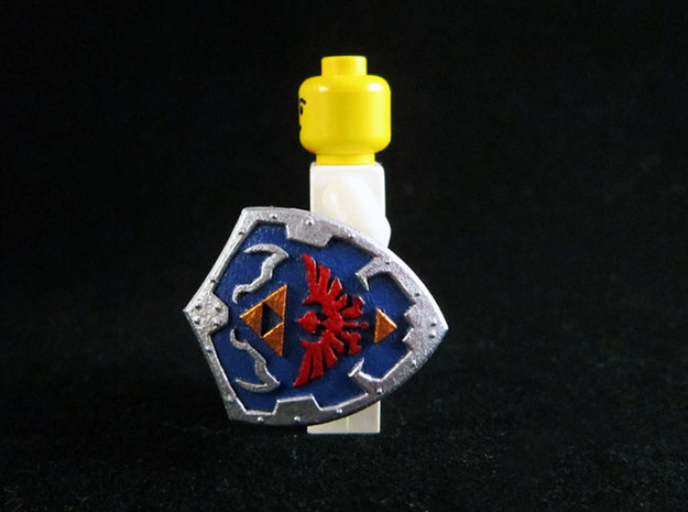 Royal Shield I 3d printed Painted Frosted Ultra Detail