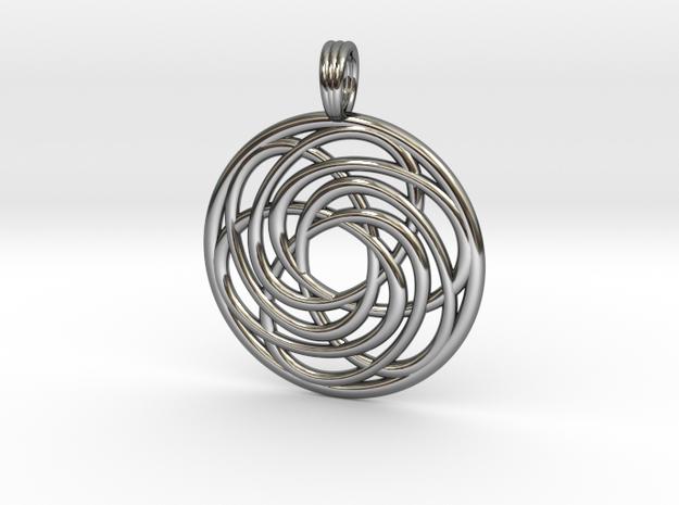 BREATH OF LIFE in Fine Detail Polished Silver