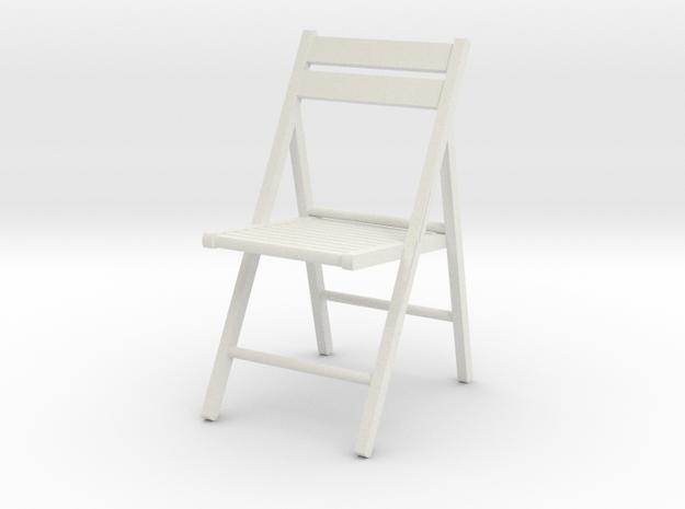 1:24 Wooden Folding Chair