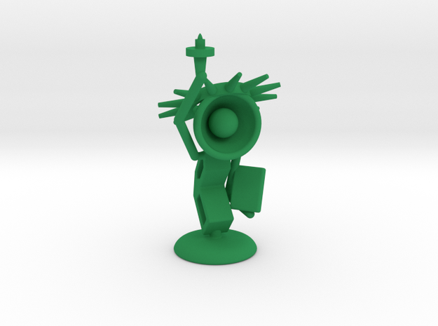 Lala - State of liberty - DeskToys in Green Processed Versatile Plastic