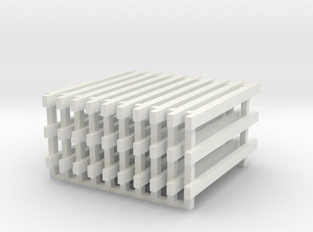 10' No Feet (10) in White Natural Versatile Plastic