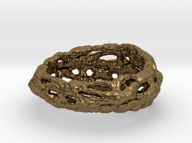 Cellulesque Ring 3d printed