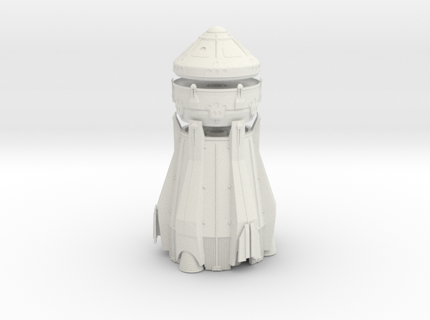 1/72 NASA / JPL ARES MARS ASCENT VEHICLE 3 STAGE in White Natural Versatile Plastic