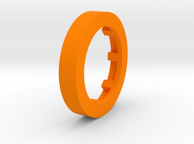 Plokko Wiel in Orange Strong & Flexible Polished