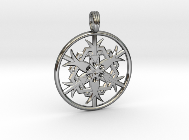 EVE OF ISIS in Fine Detail Polished Silver