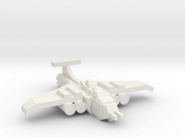 [5] Heavy Bomber in White Natural Versatile Plastic